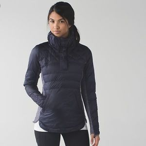 Lululemon Down for a Run Pullover (Grape)